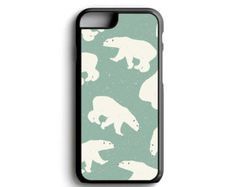 Check out iPhone Case Polar Bear Pattern For iPhone 4, iPhone 5, iPhone 5c, iPhone 6, iPhone 6 Plus with FREE iPhone Tempered Glass Screen* on casematicus