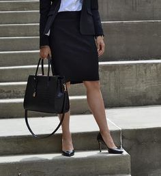 An important staple that you NEED in your closet is a pair of classic black pumps. Check out where I bought my favorite pair! Best Workwear, White Pumps, Pointed Toe Heels, White Collar, Work Wear, Pairs, Classic, Pretty, Check