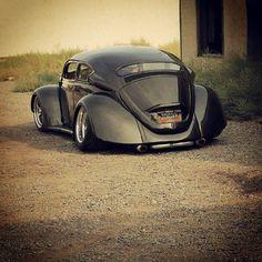Badass Chopped VW Beatle