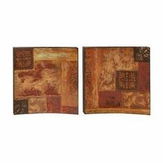 Benzara 66457 18 in. Metal Wall Decor Set of 2 by Benzara. $55.87. Great Gift Idea.. Design is stylish and innovative. Satisfaction Ensured.. Catch the new trend in home furnishing.. Dimension: Each piece is 18quot; H x 18quot; W.. Classic metal art piece for any home decor.. Benzaras exclusive and trendy home decor accents nautical decor accessories and furniture products from India has gained itself a reputation due to the high quality and detail at affordabl...