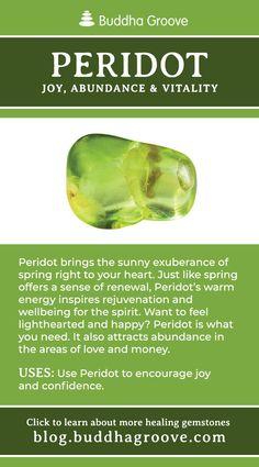 Peridot - Joy Abundance and Vitality