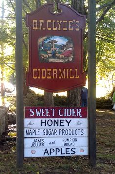Clyde's Cider Mill - Great weekend trip for children as they can watch the cider-making process. New England Foliage, New England Fall, First Day Of Autumn, Autumn Day, Weekend Trips, Day Trips, Mystic Connecticut, Cider Making, Fall Fest