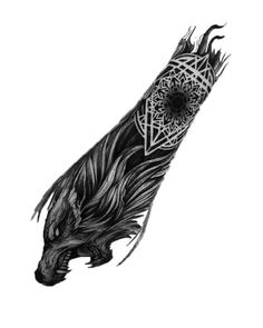 New tattoo sleeve animal style Ideas tattoo old school tattoo arm tattoo tattoo tattoos tattoo antebrazo arm sleeve tattoo Fenrir Tattoo, Norse Tattoo, Celtic Tattoos, Viking Tattoos, Maori Tattoos, Wolf Tattoos, Animal Tattoos, Body Art Tattoos, Hand Tattoos