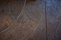 Beautiful floor, is it stamped concrete?