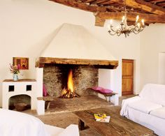 Open fireplace,,,