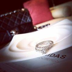 Love it #diamondring #ring #diamond #engagementring
