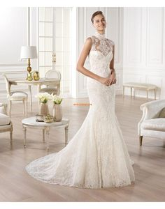More stunning wedding gowns from Atelier Pronovias 2014 bridal collection. Crystal Wedding Dresses, Lace Wedding Dress, Wedding Dresses 2014, Bridal Dresses, Wedding Gowns, Girls Dresses, Bridesmaid Dresses, Wedding Blog, Wedding Planner