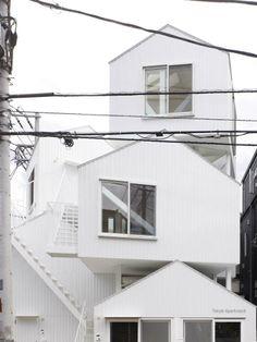 Tokyo Apartments by Sou Fujimoto