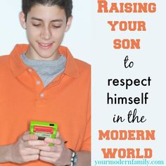 Raising our boys to have respect for themselves & others in a world that doesn't expect it. your modern family