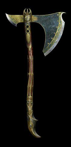 God of War: Leviathan Axe max upgrade Kratos God Of War, Armes Concept, Kratos Axe, Larp, Drawing Sketches, Drawings, Axe Drawing, Talisman, Battle Axe
