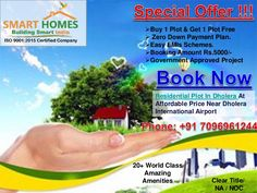 Offer !!! Buy 1 Plot & Get 1 Free in Dholera on kamatalav.  #Dholera