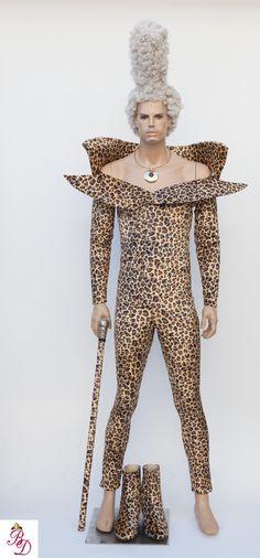 Ruby Rhod Chris Tucker Fifth Element Leopard by BbeautyDesigns