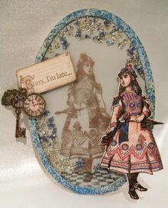 Scrap'n Surprise!: Stampendous joins Altered Alice!
