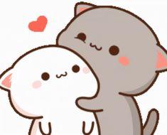 Cute Anime Cat, Cute Bunny Cartoon, Cute Cartoon Pictures, Cute Cat Gif, Cute Anime Pics, Cute Bear Drawings, Cute Cartoon Drawings, Cute Love Pictures, Cute Love Gif