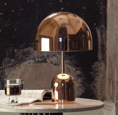 """Bell 17.3"""" H Table Lamp with Dome Shade"""