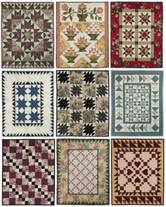 Fat Quarter Quilting: Four Fabric Quilts