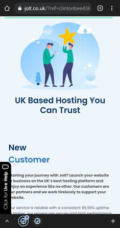 One years hosting for only £5 offer available from October to November: