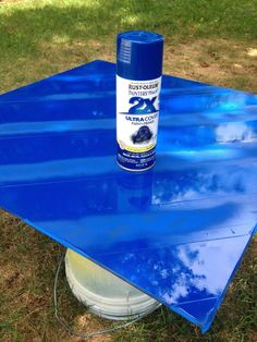 Safe & Easy Steps to Paint Glass Table Top Paint Glass Coffee Table, Painted Coffee Tables, Glass Table, Painting Patio Furniture, Patio Furniture Makeover, Painted Furniture, Glass Furniture, Patio Makeover, Diy Table Top