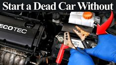 In this video I am going to show you how you can start a car that won't start, whether its due to a bad or weak battery, bad starter motor or even a bad igni. Car Starter, Starter Motor, Jump A Car Battery, Battery Hacks, Car Hacks, Take Care Of Yourself, Car Repair, Vehicle Repair, Easy Tricks