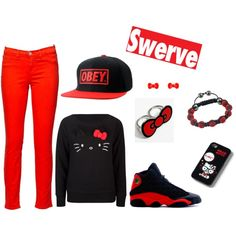 """""""Goin bowling"""" by kokomindless-swagg on Polyvore"""
