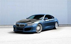BMW F06 6 series Grand Coupe blue , felicity's car