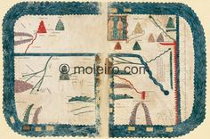 The map of the world (10th C.)Girona Beatus (Gerona Cathedral)