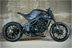 The 'crotch rocket' alternative. | TRIUMPH SPEED RACER | BY IMPOZ DESIGN