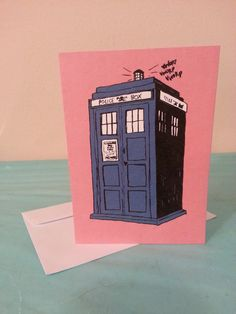 This adorable Valentine is perfect for the Doctor Who lover in your life! The recipient is sure to be your companion after this thoughtful