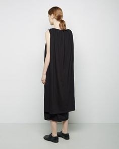 D RK  SH D W by Rick Owens  Cape Dress