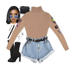 A fashion look from October 2016 by demirese featuring Calvin Klein Collection, Building Block, Lana, Garrett Leight and Lime Crime