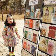 .kim has a little helper public witnessing in South Korea.