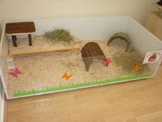 Guinea pig cage ..the simplicity is nice, but it needs to be bigger lol