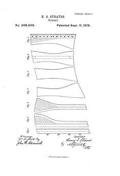 1878 corset patent