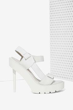 Jeffrey Campbell Tamera Platform Leather Heel | Shop Jeffrey Campbell at Nasty Gal
