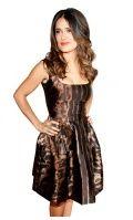 Salma Hayek...love her, love the dress and her hair!