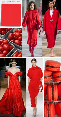 Fashion Colours, Red Fashion, Fashion Trends, Light Red Color, Boyish Style, Color Trends 2018, Red Color Schemes, Spring Color Palette, Color Me Beautiful
