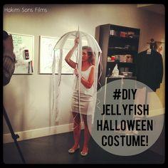 #Halloween #DIY #costume #jellyfish @hakimsonsfilms