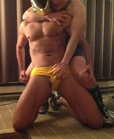 Gay cock wrestling