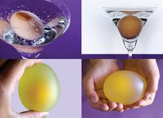 Science experiments you can do in your kitchen.