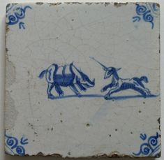 Art Pottery Delft Porceleyne Fles Delft Tile Delf Beautiful In Colour