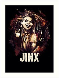 League of Legends JINX by Naumovski