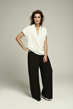 How to dress in a heat wave | That's Not My Age ...it always helps if you look like Yasmin Le Bon of course but failing that, our Trilogy Top http://www.hotpatterns.com/categories/what%27s-new/ over our Pull-On Palazzos http://www.hotpatterns.com/hp-1190-fast-fabulous-pull-on-palazzo-pants/ will do the trick...