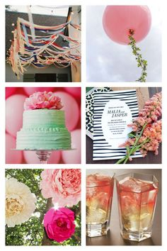 Spring Weddings in Pink and Green | Susty Party