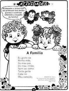 Contribuição Poema - Família - Ed.Infantil.e 1º Ano | Portal da Educação