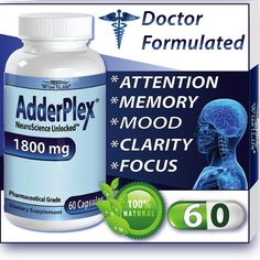 AdderPlex: Proven anti anxiety supplement at Amazon.com at 20% OFF