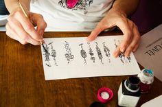 Sketching for Bracelets <3 - www.veragivel.com