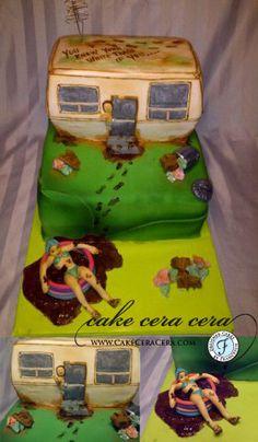 Redneck Cake by Cake Cera Cera www.CakeCeraCera.com