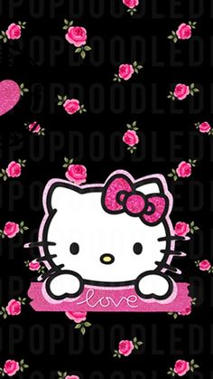 Image in Hello kitty collection by ป่านแก้ว on We Heart It Foto Hello Kitty, Pink Hello Kitty, Hello Kitty Birthday, Sanrio Hello Kitty, Here Kitty Kitty, Love Pink Wallpaper, Hello Kitty Iphone Wallpaper, Hello Kitty Backgrounds, Cute Wallpaper Backgrounds