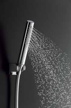 Bring the April Showers inside your home and take a moment to soak up a comfortably stimulating shower with large water droplets from our Cylindrical HandShower. Bathroom Hardware, Bathroom Fixtures, Water Droplets, April Showers, Shower Heads, In This Moment, Bathroom Accesories, Showers, Water Drops