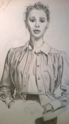 pretty girl with blouse by : Ebvs ; Elian van Schaik 2013-2014